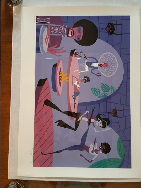 Josh Agle (aka SHAG) Limited Edition Print from 2003  - MINT!