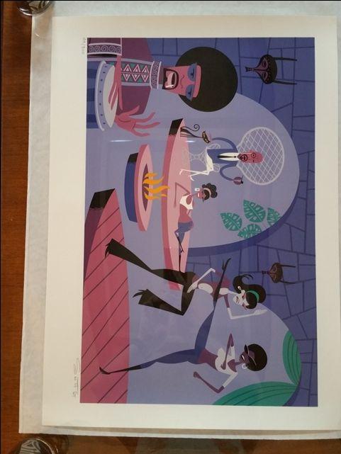 Josh Agle (aka SHAG) Limited Edition Print from 2003 - MINT!