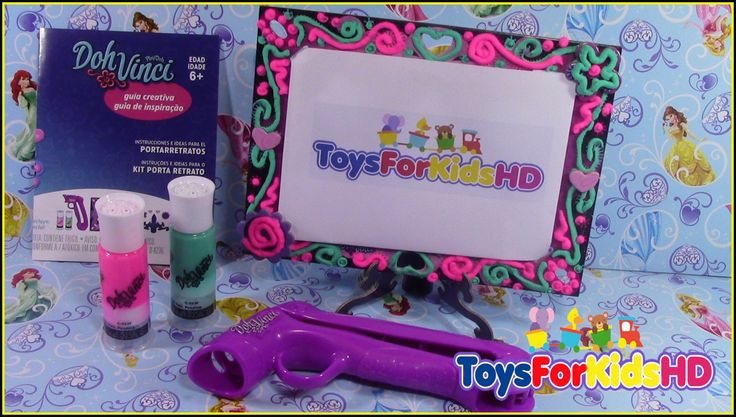 Play-Doh Doh Vinci Portarretratros - Doh Vinci Kit Porta Retrato