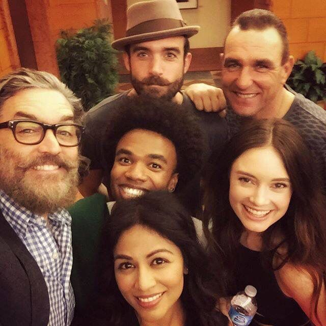 The Galavant cast ready for season two! :D