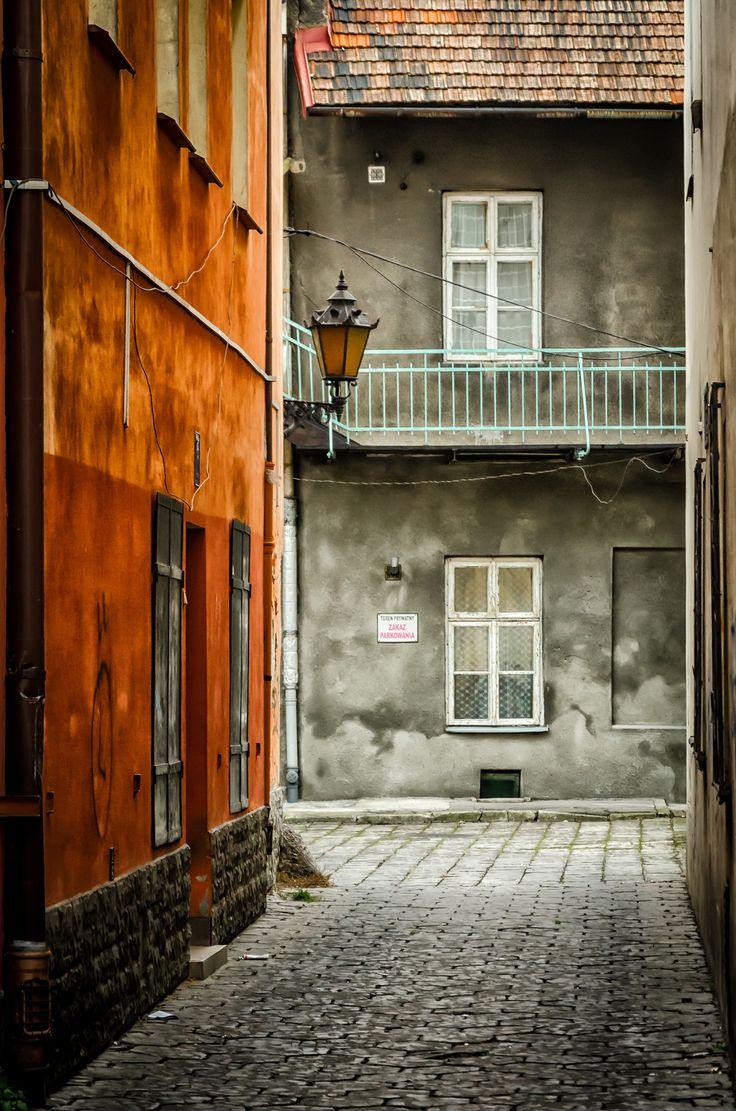 Narrow streets of Tarnow Old Town - Tarnow- Poland