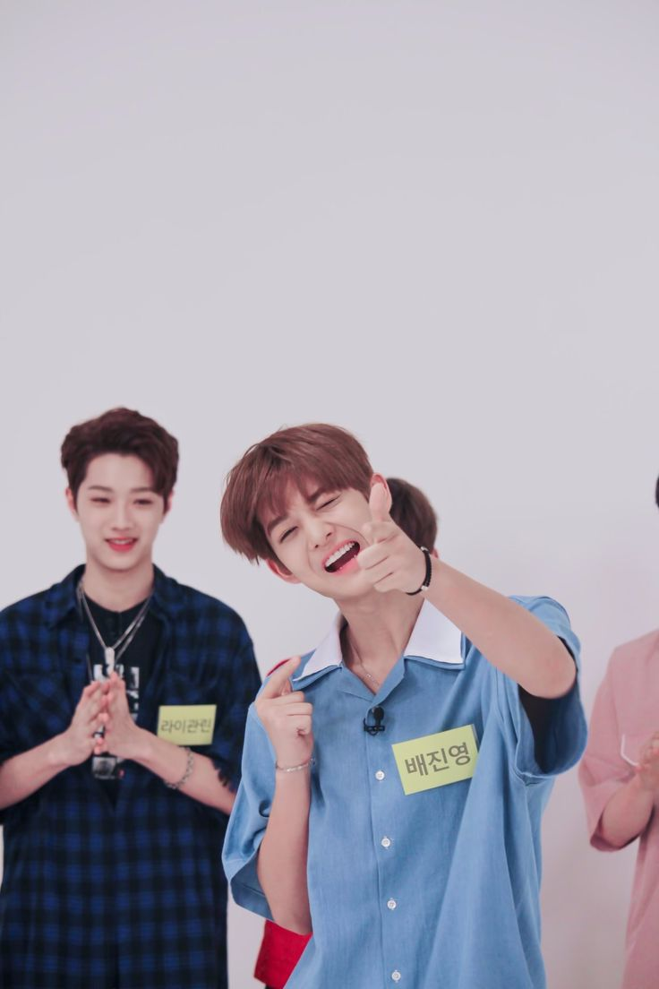 he do the ddak ddak aegyo in weekly idol#PanDeep #LaiKuanLin #BaeJinYoung #WannaOne #Wannable #DeepDark #YesGood #poliwag #baebunny