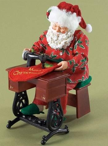 *Sew...ho, Ho, Ho* Santa Sews