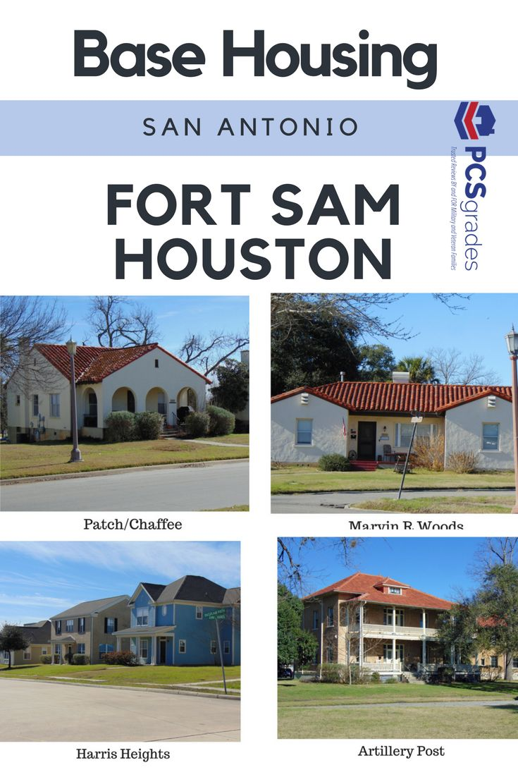 PCS orders to Fort Sam Houston? Read reviews on base housing from your fellow military community!