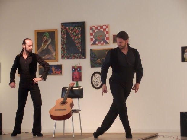 Reflejo. Javier Martos y Raimundo Benítez. Asalto a los Museos en el Día Internacional de la Danza 2014