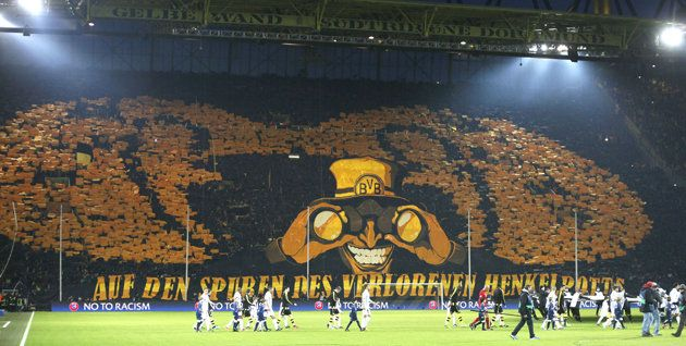The Westfalenstadion aka the Signal Iduna Park, some of the best fans in world soccer!