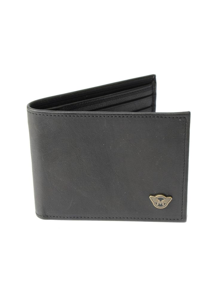 Matchless Antique Black Classic Wallet | Accent Clothing