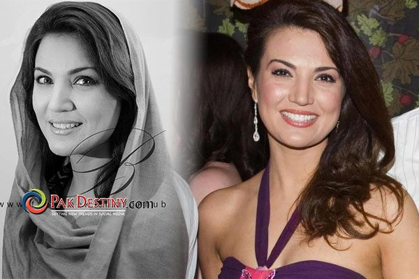 Reham Khan : When she was not so 'wrapped in dupatta and chaadar'. A huge transition