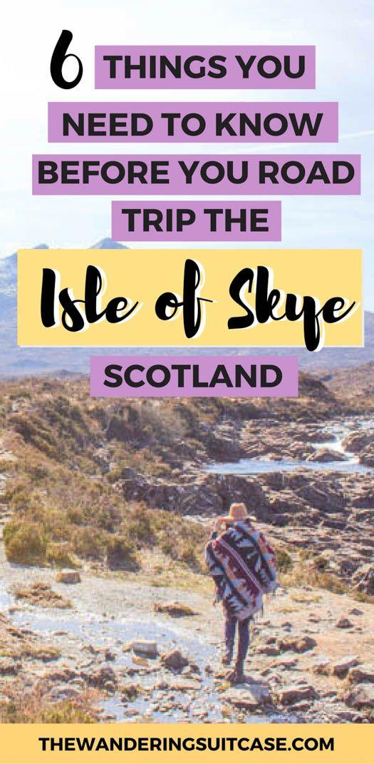 Driving guide for Isle of Skye, Scotland | Guide to Isle of Skye | Scottish Highlands | UK | United Kingdom | Scottish Roadtrips #isleofskyeguide #isleofskye #scotlandtravel via @wanderingsuitca