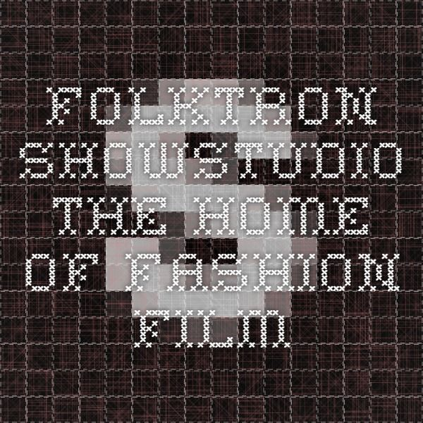 Folktron - SHOWstudio - The Home of Fashion Film