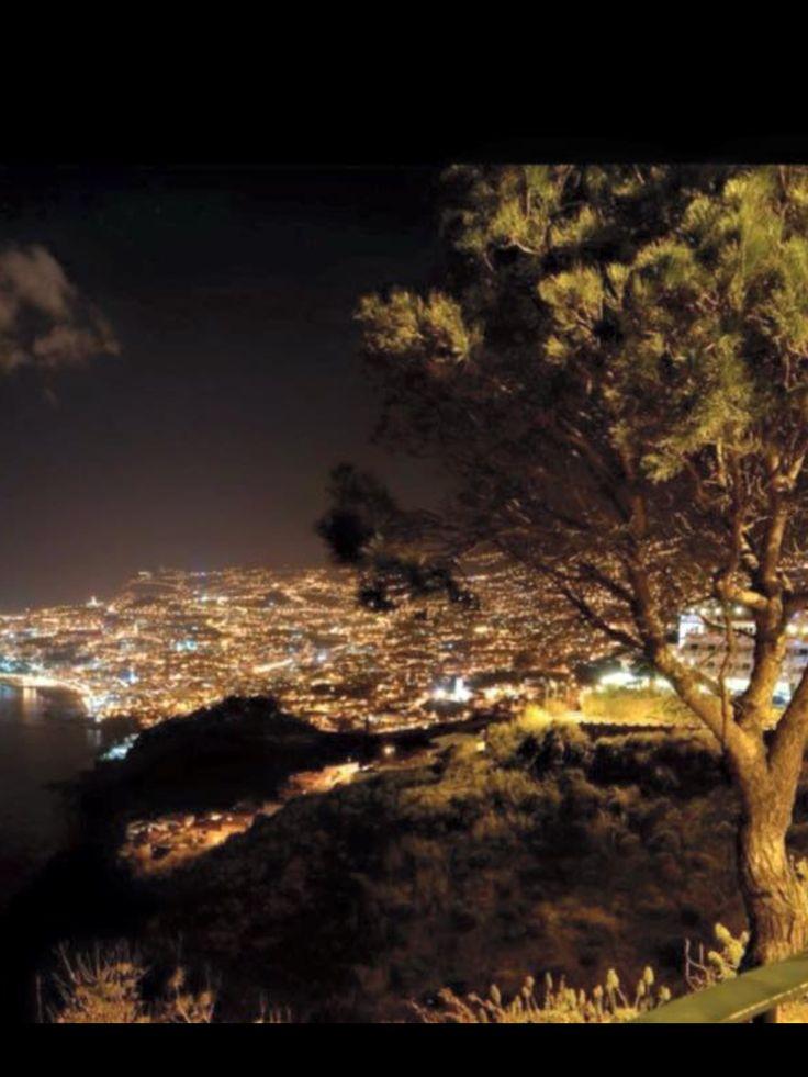 Zona alta Funchal Madeira