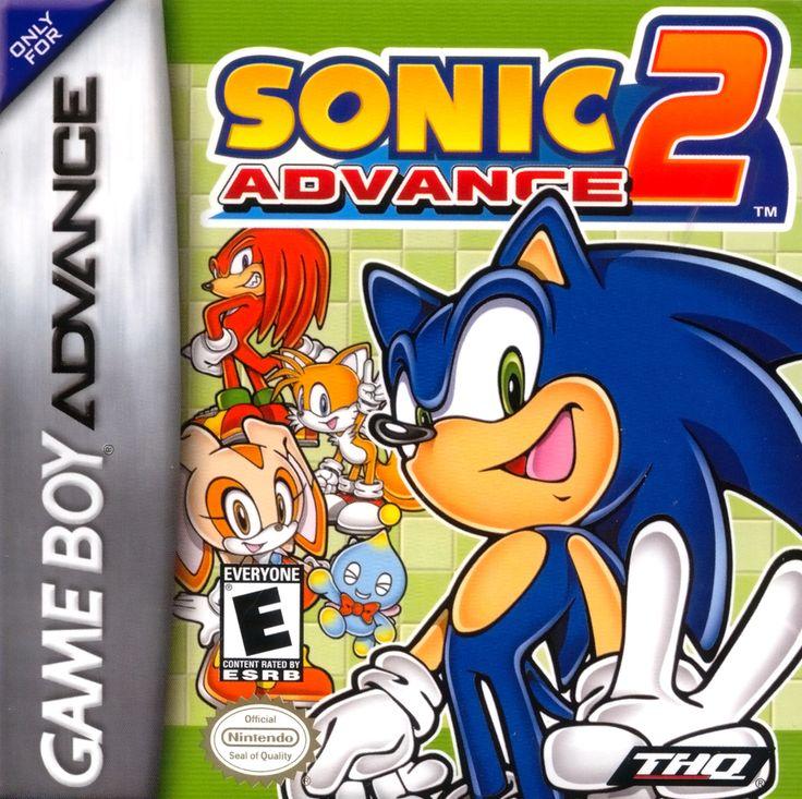 Pin by Larissa Andrews on Sega games Sonic advance 2