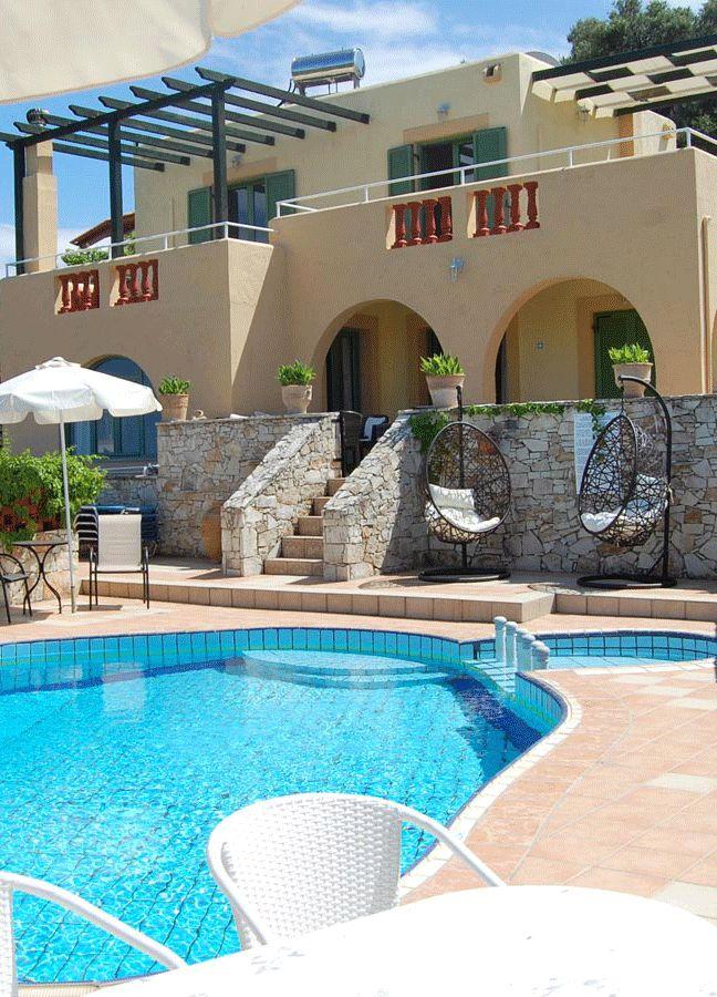 Villa Athina in Stalos, Chania, Crete