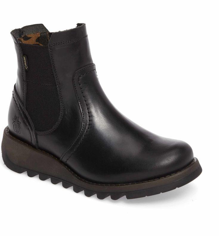 Main Image - Fly London Scon Waterproof Gore-Tex® Chelsea Boot (Women)