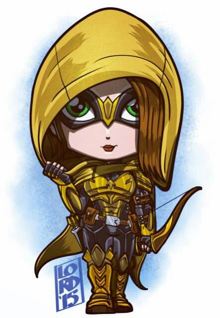Lord mesa-art Speedy DC Comics - Mia Dearden