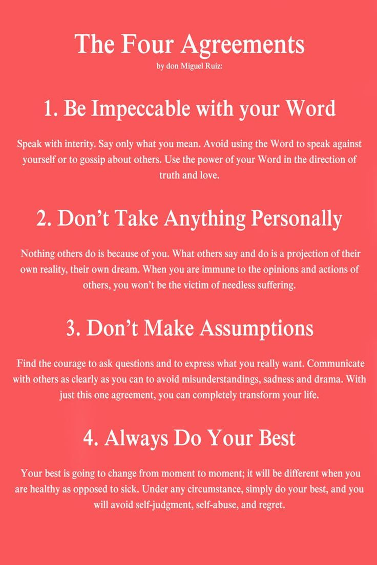 7 Best Health Images On Pinterest The Four Agreements Four