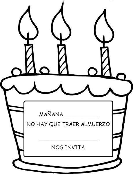 Menta Más Chocolate - RECURSOS y ACTIVIDADES PARA EDUCACIÓN INFANTIL: Cartel Cumpleaños