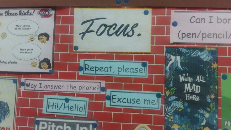 Class board decoration