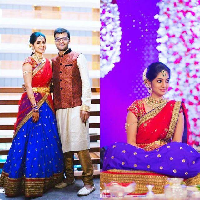Nishitha Reddy in Mrunalini Rao - Saree Blouse Patterns