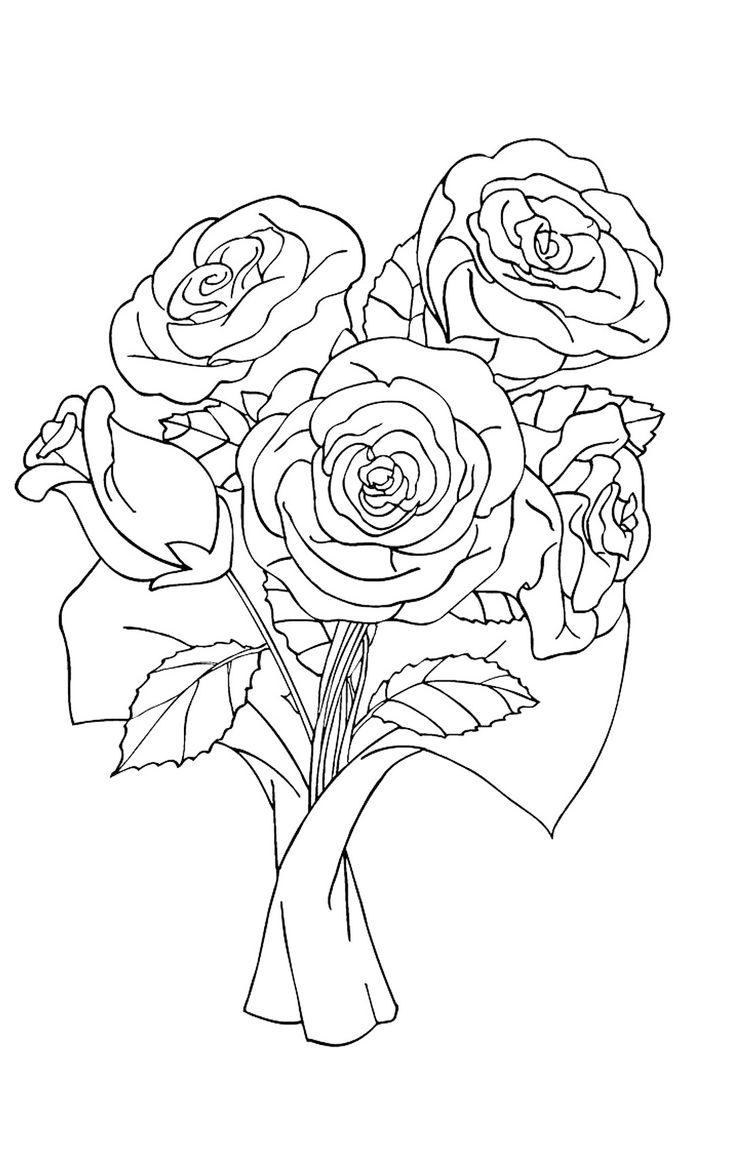 8 best flower coloring pages images on pinterest flower