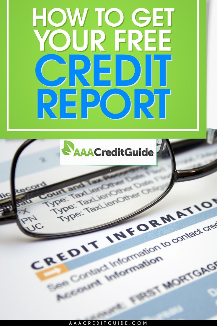 The FCRA entitles you to 1 free credit report from each of the 3 major credit bureaus, each year. Find out how to get a copy of yours here.
