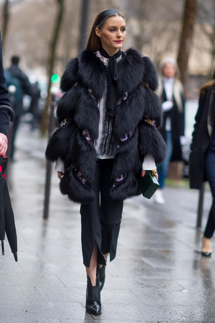 On the street at Paris Fashion Week. Photo: Moeez/Fashionista.