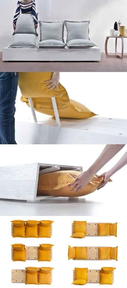 Formabilio enables customizable seats in flexible facile sofa