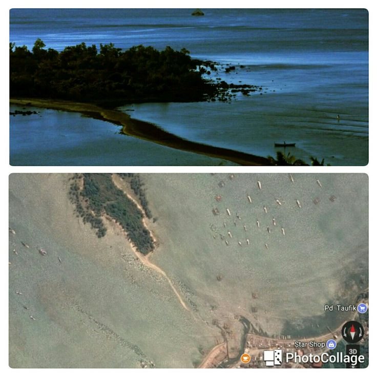 Pulau Sumur Tujuh some people call it Musa Island coz sometimes we can cross it by walking (west java)