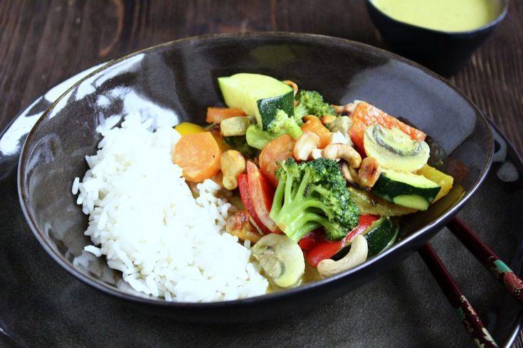 Thai Gemüse – Curry (Food with Love – Thermomix Rezepte mit Herz