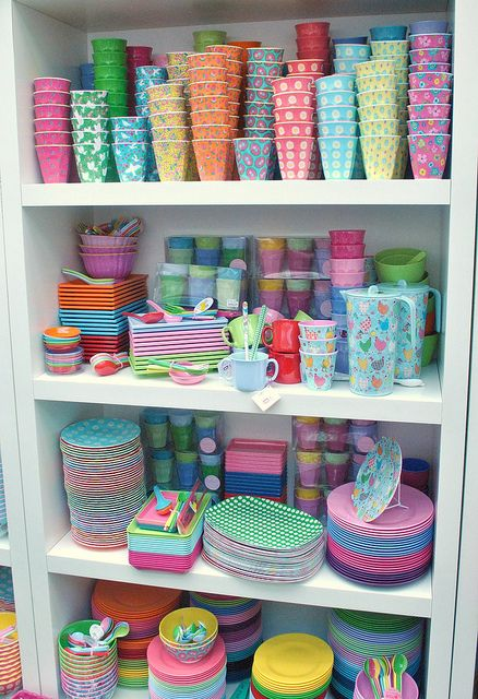 Rice DK Melamine - ooh this would go in my BBQ stacker box VERY nicely!