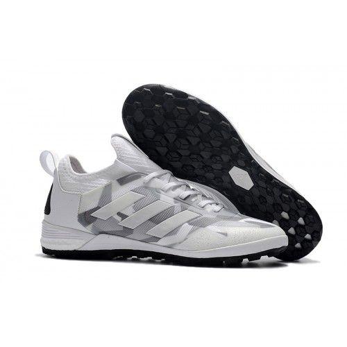 Adidas ACE Tango 17+ Purecontrol TF Fotbollskor Silvervit Grå ... 2081834cf3c52