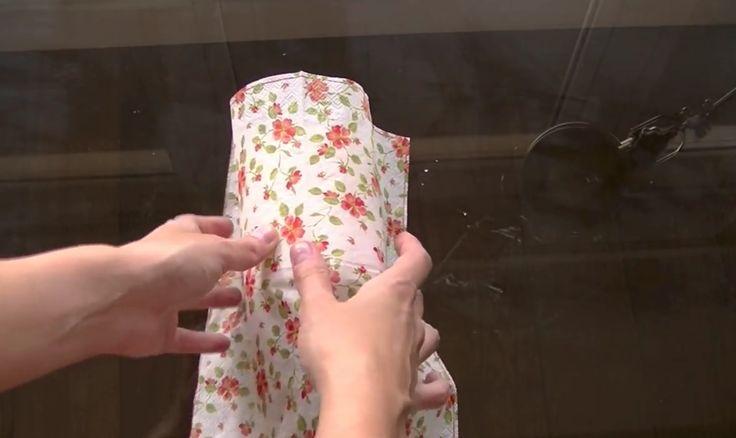 45 best manualidades servilletas de papel images on - Como decorar velas ...