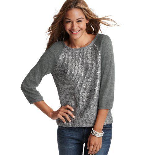 foil print sweater- LOFT: Petite Foil, 3 4 Sleeve, Prints 3 4, Loft Sweaters, Foil Prints, Loft Foil, Prints 34, Sleeve Sweaters, Anne Taylors Loft
