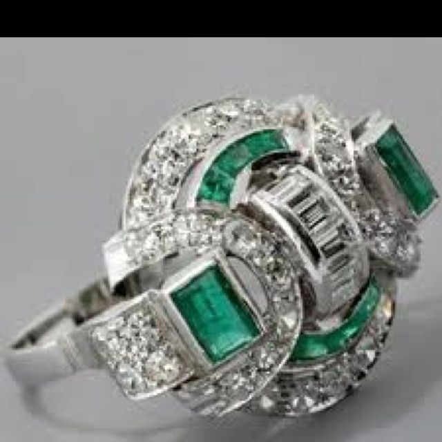 Fab estate ring.