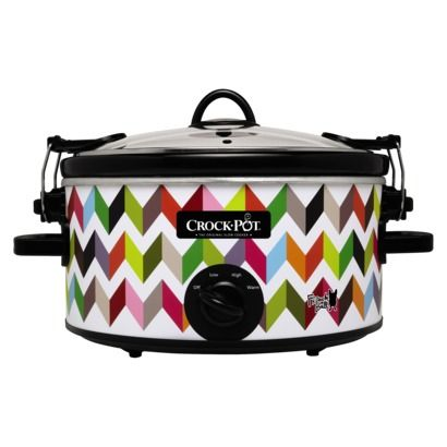 So snazzy! LOVE this crockpot by @French Pascucci Czachor Bull Bull for @Target !!!