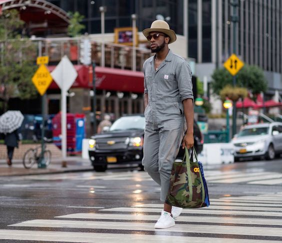 1098 melhores imagens de moda masculina no pinterest for Jardineira masculina c a
