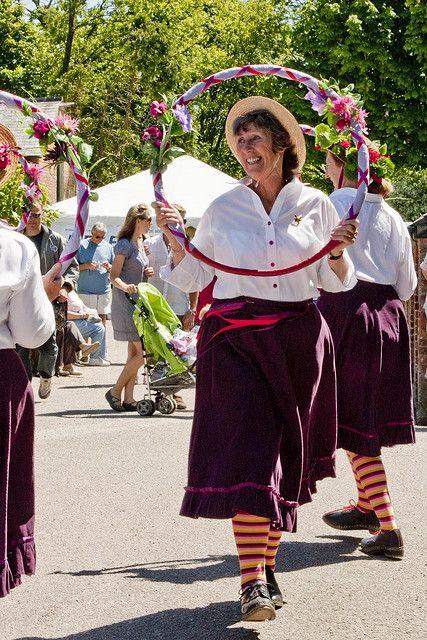 Morris Dancers, Trelissick, Gardens