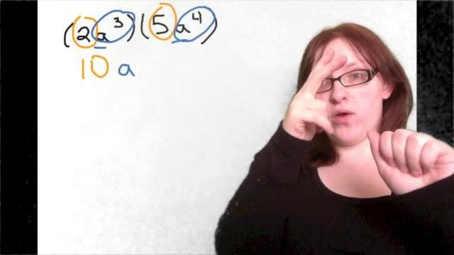 Exponents Practice: Part 1 by Christina Foran. This is a video tutorial that shows students how to solve problems involving exponents. Each problem is narrated in American Sign Language. (This is my first time using green screen, so please excuse the blurriness. I plan on getting better backdrops and lighting equipment within the next month.) Enjoy! And if you have any questions or still need help, please post in the comments.