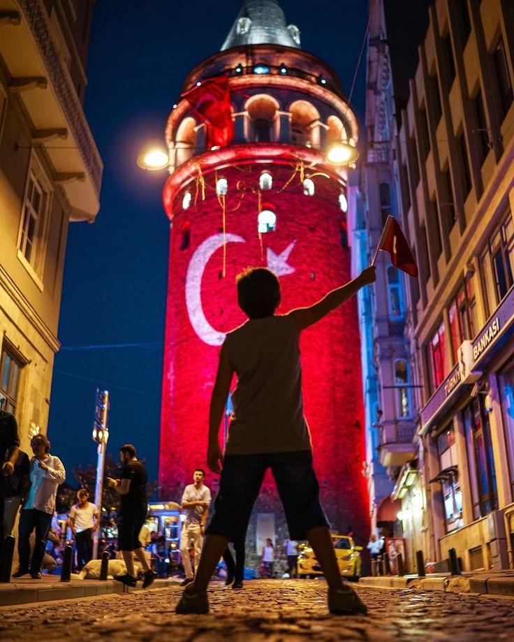 Galata Tower . Istanbul