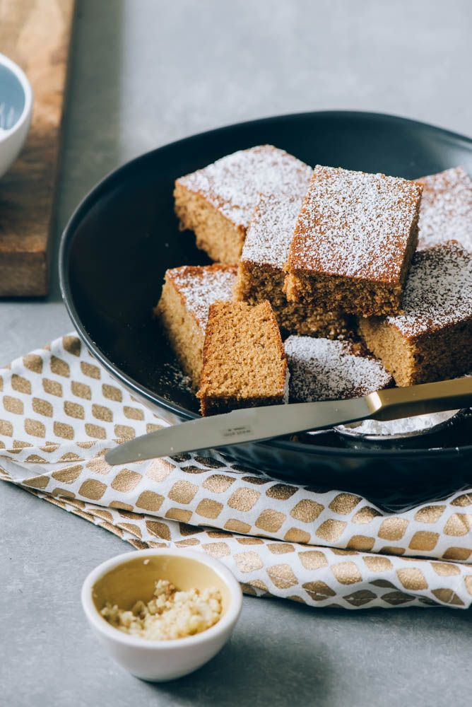 Two Loves Studio Gingerbread Snack Cake