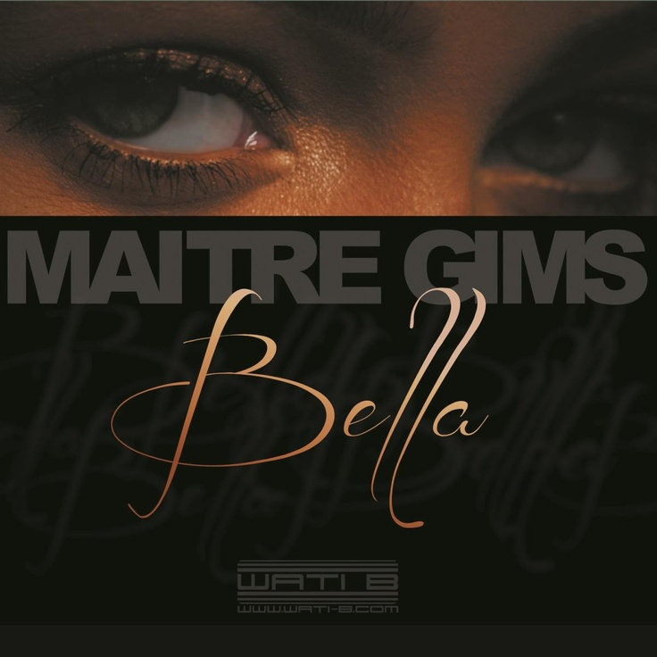 single cover art: maitre gims - bella [05/2013]
