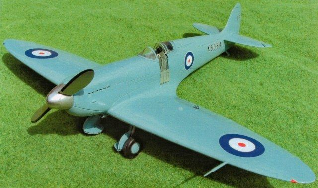 Supermarine Spitfire, Prototype K-5054. Marsh Models/Aerotech, 1/32, resin, initial release, No.32020. Price: Not Sold.