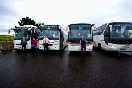 Fleet of Buses - Used for Big Size Group Tours