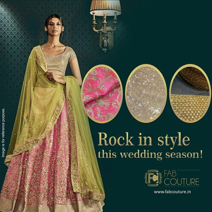 Rock in Style this wedding season with #FabCouture! #DesignerFabric at #AffordablePrices.  Buy your stock of fabric from: https://fabcouture.in/fabrics/embroidered-indian-fabrics.html #DesignerDresses #Fabric #Fashion #DesignerWear #ModernWomen#DesiLook #Embroidered #WeddingFashion #EthnicAttire #WesternLook #affordablefashion #GreatDesignsStartwithGreatFabrics #LightnBrightColors #StandApartfromtheCrowd #EmbroideredFabrics