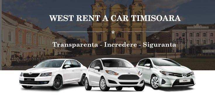 WEST RENT A CAR TIMISOARA  Inchirieri auto Timisoara West Rent a Car Timisoara ofera servicii de inchirieri auto si inchirieri masini ieftine cu preturi incepand de la 16 € (tva + toate taxele incluse), bazate pe transparenta, calitate si siguranta, oferindu-le clientiilor sai posibilitatea de a inchiria o masina si fara un card de credit.
