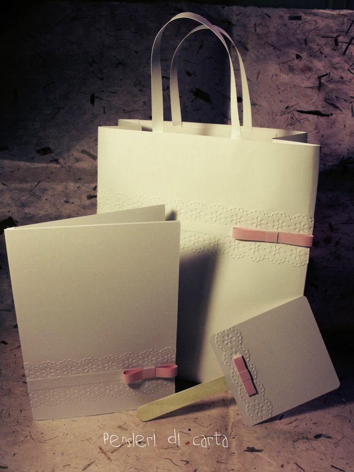 wedding bag-cover libretto messa-ventaglio con lo stecco