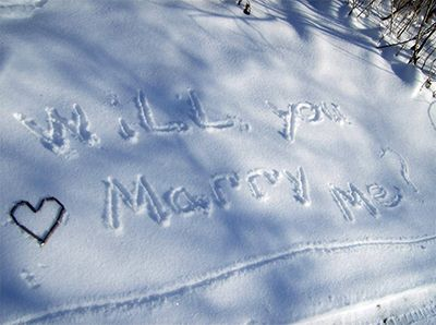 7 Winter Proposal Ideas - Engagement 101