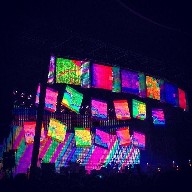 Radiohead in Berlin 29 set  Photo by zetabcn