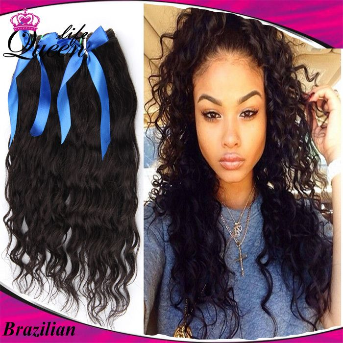 53 best curly hair images on pinterest hair style afro and art brazilian natural wave virgin hair 3pcs lot brazilian natural water curly hair unprocessed human hair weave pmusecretfo Images