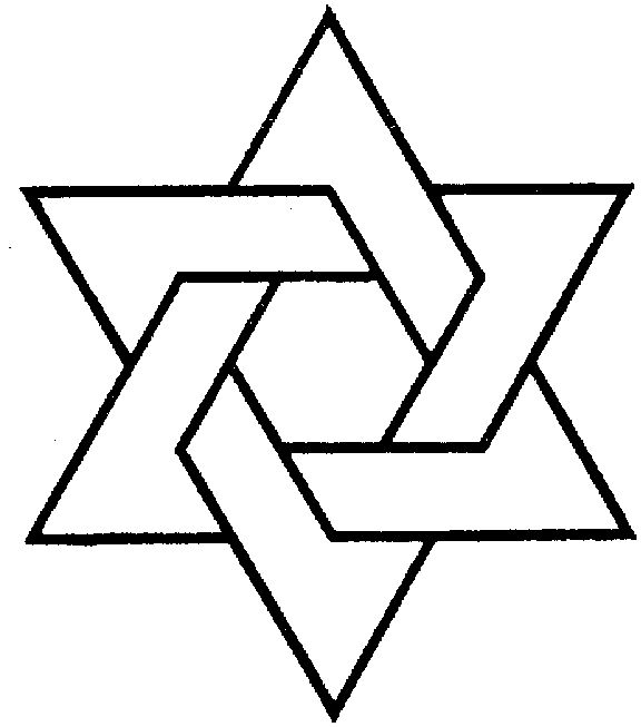 pattern for star of David - Google Search